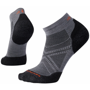 Ponožky Smartwool PhD Run Light Elite Low Cut Velikost ponožek: 38-41 / Barva: černá/šedá