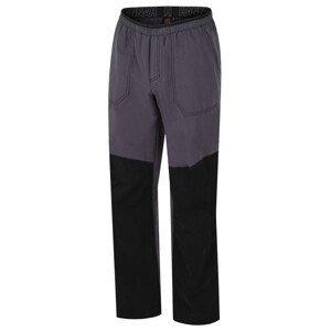 Pánské kalhoty Hannah Blog Velikost: XL / Barva: černá/zelená