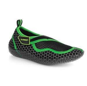 Dětské boty do vody Loap Cosma Kid Dětské velikosti bot: 28 / Barva: černá/zelená