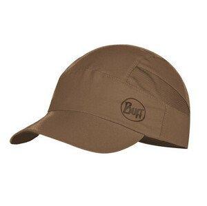 Kšiltovka Buff Pack Trek Cap Solid Barva: hnědá