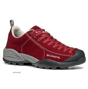 Pánské boty Scarpa Mojito GTX Velikost bot (EU): 39,5 / Barva: červená