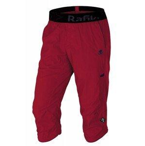 Pánské 3/4 kalhoty Rafiki Moonstone Velikost: L / Barva: červená