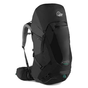 Dámský batoh Lowe Alpine Manaslu ND 50:65 Velikost zad batohu: S/M / Barva: černá