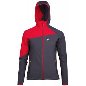 Dámská bunda High Point Drift 2.0 Lady Hoody Jacket Velikost: L / Barva: šedá/červená
