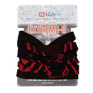 Nákrčník N-Rit Extreme II Obvod hlavy: univerzální cm / Barva: černá/červená