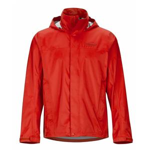 Pánská bunda Marmot PreCip Eco Jacket Velikost: XXL / Barva: červená/oranžová