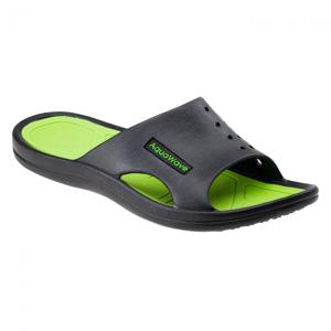 Pánské pantofle Aquawave Nahin Velikost bot (EU): 45 / Barva: černá/zelená
