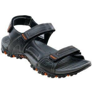 Pánské sandály Hi-Tec Grando Velikost bot (EU): 45 / Barva: černá