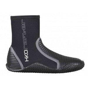 Vysoké neoprenové boty Hiko Rafter Velikost bot (EU): 13 / Barva: černá