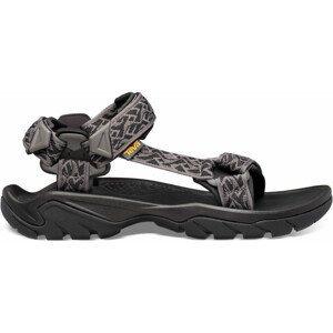 Pánské sandály Teva Terra Fi 5 Universal Velikost bot (EU): 45 / Barva: šedá/černá