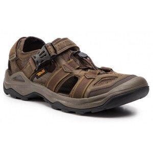 Pánské sandály Teva Omnium 2 Leather Velikost bot (EU): 42,5 / Barva: hnědá