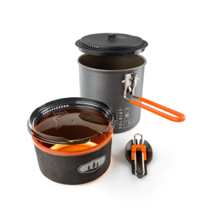 GSI Outdoors Nádobí GSI Pinnacle Soloist Barva: černá/oranžová