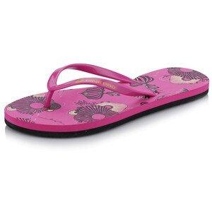 Dámské žabky Alpine Pro Jytora Velikost bot (EU): 38 / Barva: růžová