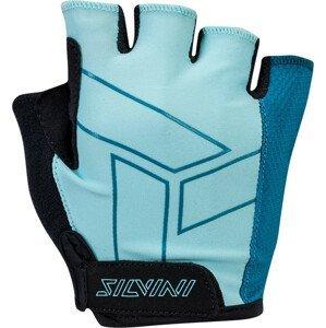 Dámské cyklo rukavice Silvini Enna WA1445 Velikost rukavic: S / Barva: světle modrá