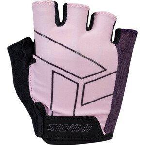 Dámské cyklo rukavice Silvini Enna WA1445 Velikost rukavic: S / Barva: růžová