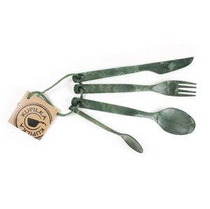 Příborová sada Kupilka Cutlery (2019) Barva: zelená