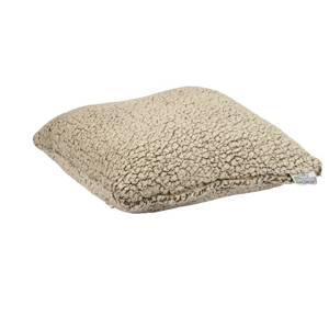 Polštář Human Comfort Sheep fleece pillow Masny Barva: khaki - béžová