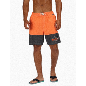 Koupací šortky Regatta Bratchmar III Velikost: S / Barva: oranžová