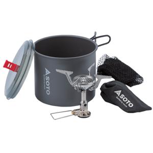 Vařič a nádobí Soto AMICUS + Pot Combo AMICUS w/o igniter + New River Pot Combo