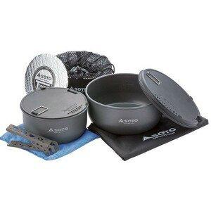 Sada nádobí Soto Navigator Cook Set Barva: šedá