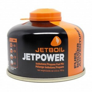Jet Boil Kartuše Jetboil JetPower Fuel 100g Barva: černá