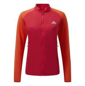 Dámská bunda Mountain Equipment Wmns Trembler Jacket Velikost: M / Barva: červená/oranžová