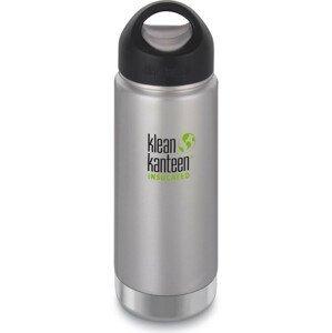 Termoska Klean Kanteen Insulated Wide w/Wide Loop Cap 473 ml Barva: stříbrná