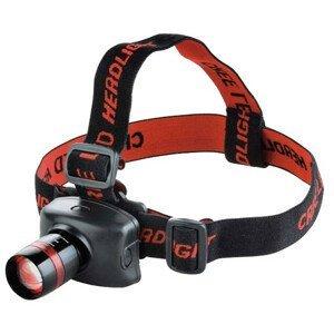 Čelovka Extol Čelovka Cree 120lm Barva: černá / červená