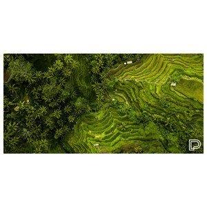 Rychleschnoucí osuška Towee Rice Fields 80x160 cm Barva: zelená
