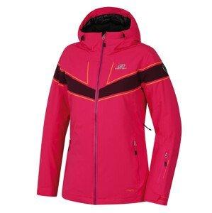 Dámská bunda Hannah Kiely Velikost: L / Barva: růžová/fialová