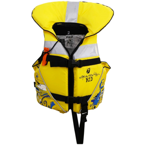 Záchranná vesta Aquadesign Piko Velikost: T3 (30/40 kg) / Barva: žlutá