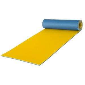 Karimatka Yate pěnová dvouvrstvá 10mm Barva: modrá/žlutá