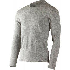 Pánské funkční triko Lasting Logan Velikost: XXL / Barva: šedá