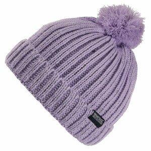 Dětská čepice Regatta Luminosity Hat III Dětská velikost: 7-10 let / Barva: fialová