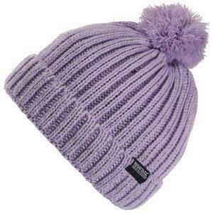 Dětská čepice Regatta Luminosity Hat III Dětská velikost: 4-6 let / Barva: fialová