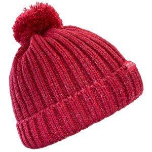 Dětská čepice Regatta Luminosity Hat III Dětská velikost: 7-10 let / Barva: vínová