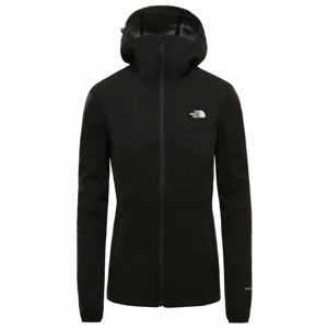 Dámská bunda The North Face Hikesteller Softshell Hoodie Velikost: L / Barva: černá