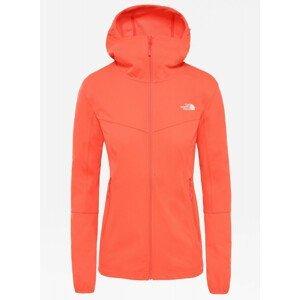 Dámská bunda The North Face Hikesteller Softshell Hoodie Velikost: L / Barva: oranžová
