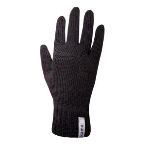 Pletené Merino rukavice Kama R101 Velikost rukavic: L / Barva: černá