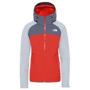 Dámská bunda The North Face Stratos Velikost: XS / Barva: červená/šedá