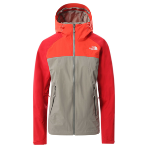Dámská bunda The North Face Stratos Velikost: S / Barva: šedá/červená
