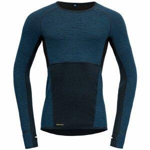 Pánské funkční triko Devold Tuvegga Sport Air Shirt Velikost: L / Barva: tmavě modrá