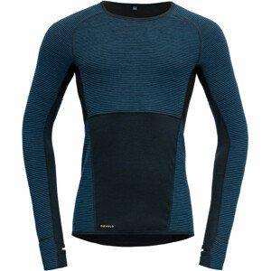 Pánské funkční triko Devold Tuvegga Sport Air Shirt Velikost: M / Barva: tmavě modrá