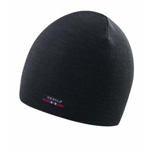 Čepice Devold Hiking Beanie Obvod hlavy: 58 cm / Barva: černá