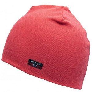 Čepice Devold Hiking Beanie Obvod hlavy: 58 cm / Barva: růžová