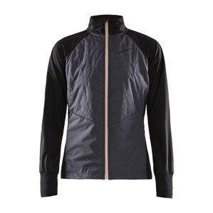Dámská bunda Craft Storm Balance Velikost: S / Barva: šedá/černá