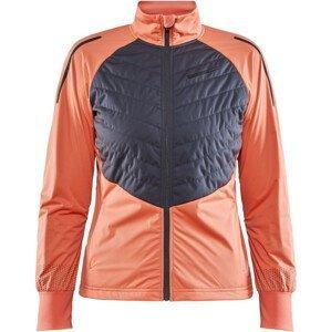 Dámská bunda Craft Storm Balance Velikost: M / Barva: oranžová