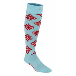 Ponožky Kari Traa Rose Sock Velikost ponožek: 40/41 / Barva: modrá/červená