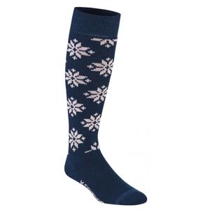 Ponožky Kari Traa Rose Sock Velikost ponožek: 40/41 / Barva: modrá/šedá