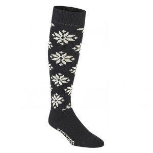 Ponožky Kari Traa Rose Sock Velikost ponožek: 40-41 / Barva: černá